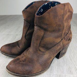 Rocketdog Women's Western Bootie Size 8.5